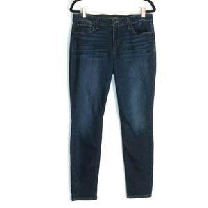 Joe's Jeans Medium Wash Stretch Skinny Ankle